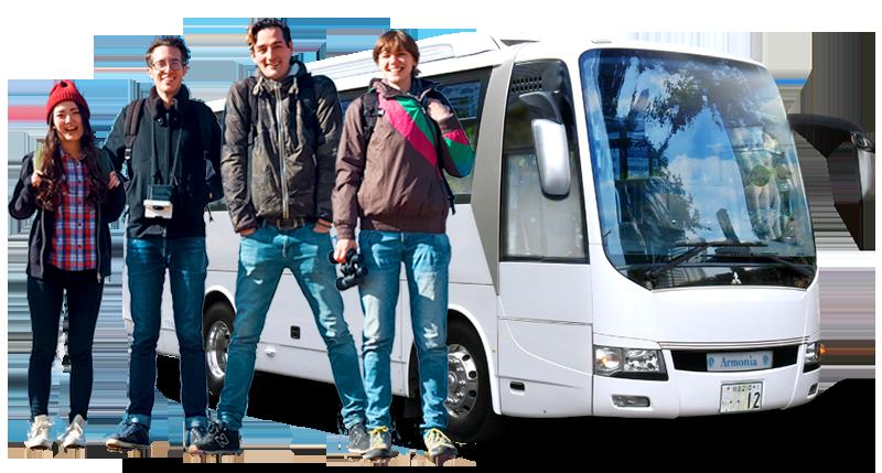 Armonia – Charter Bus Company in Japan